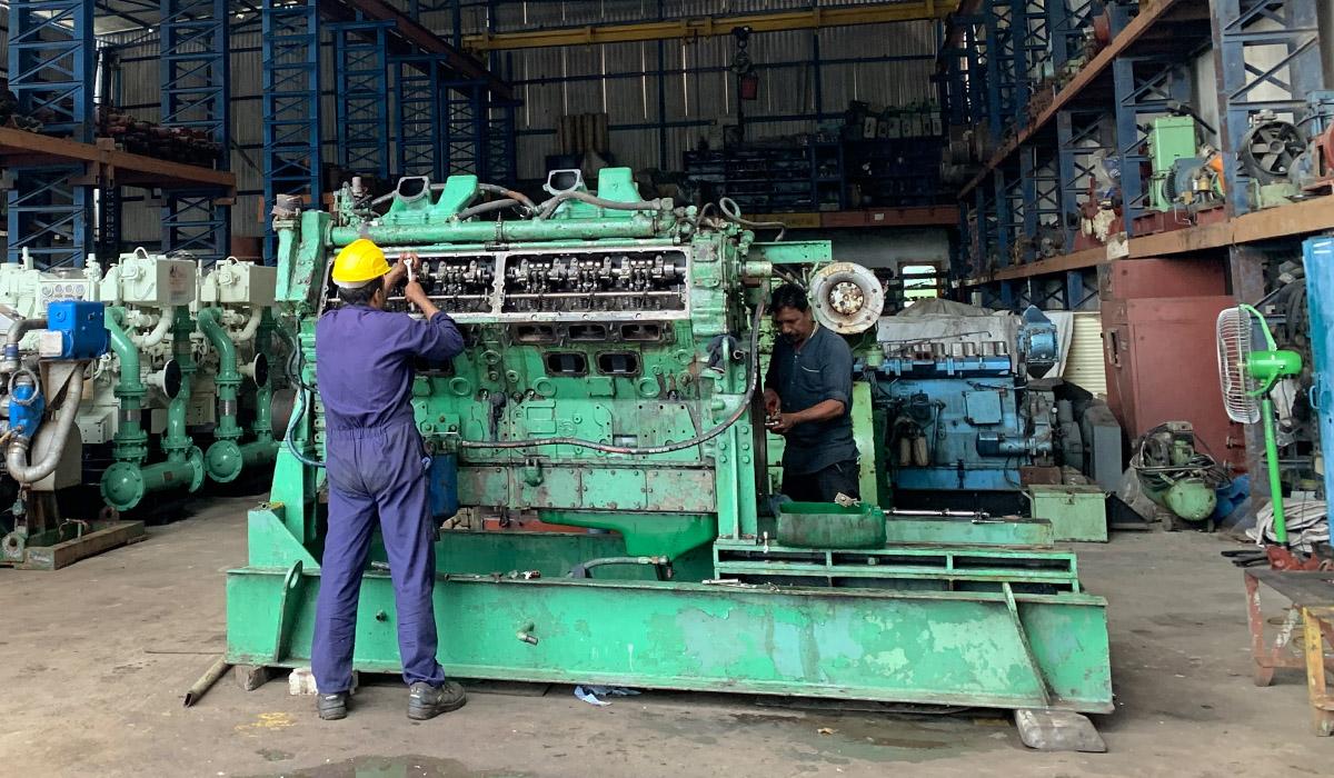 Used Marine Engine Exporters India