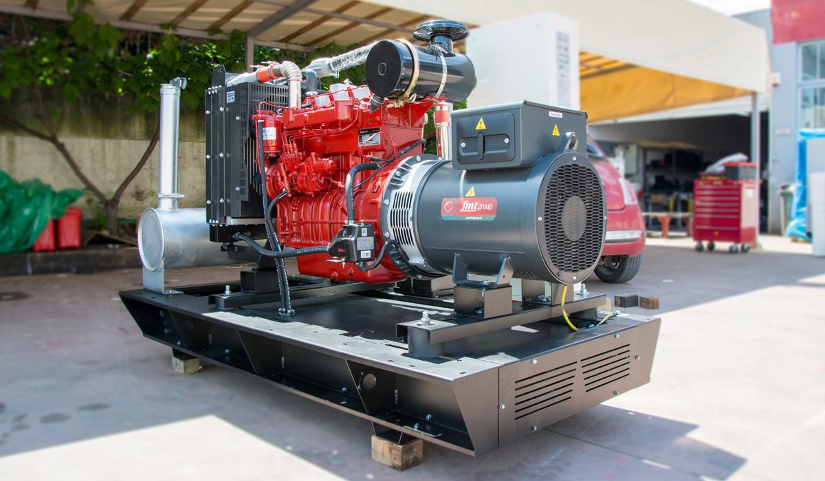 New FMT Diesel Engine Generator Set