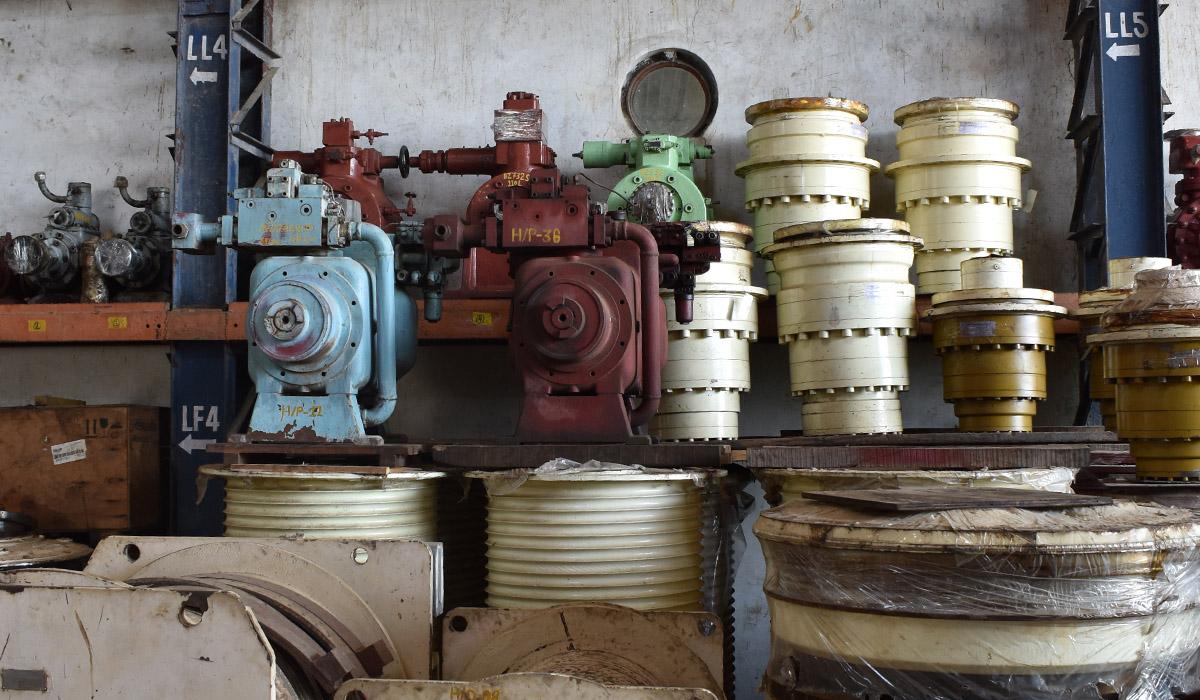 Used Hydraulic Marine Equipments India
