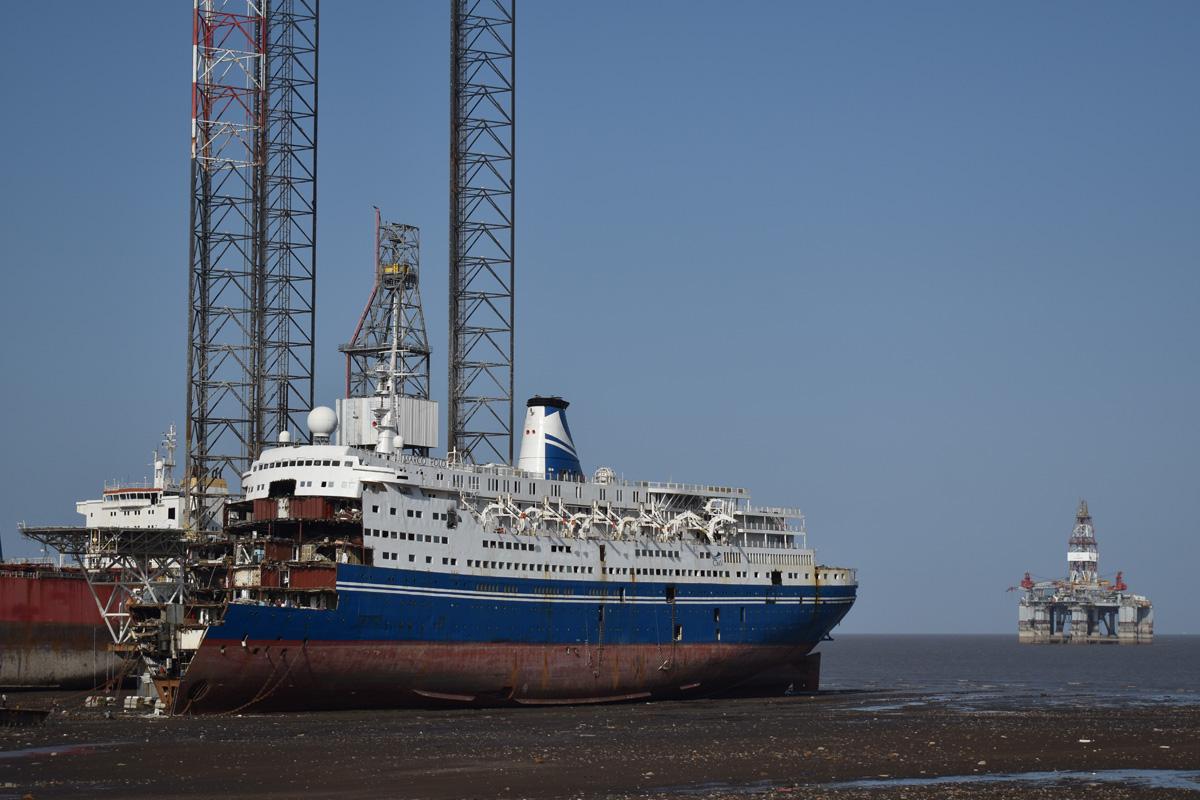 Ship Demolition in India