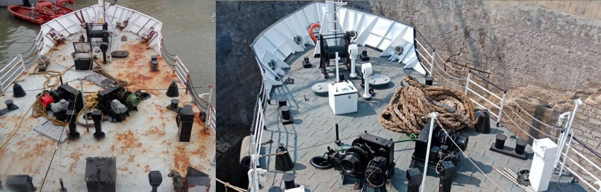 Ship Repairs in Alang Gujarat